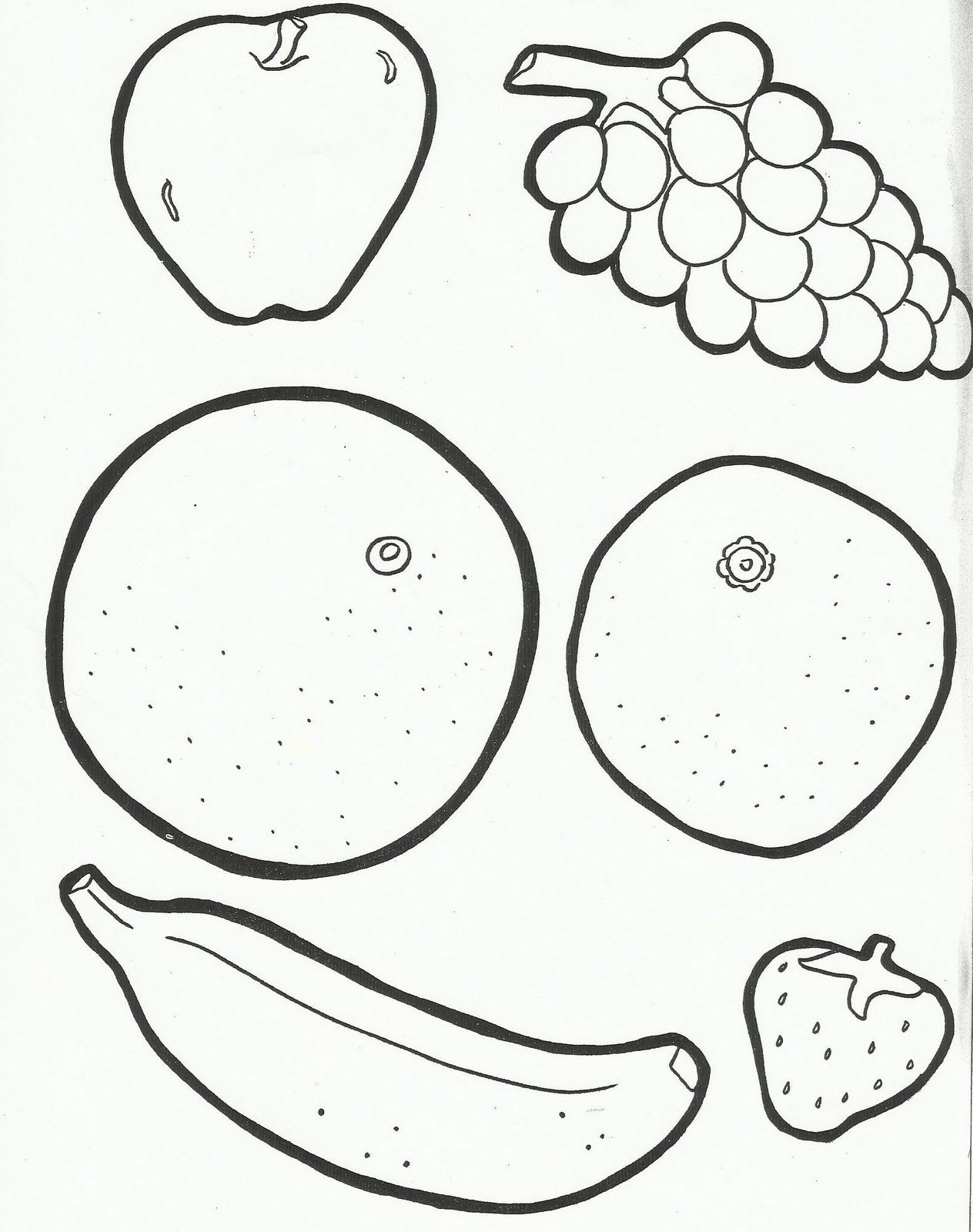 tissue paper fruit preschool and cut and paste on top of the
