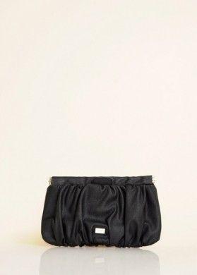 Clutch MANGO - 9,90 Euro in saldo - Clutch nera in ecop