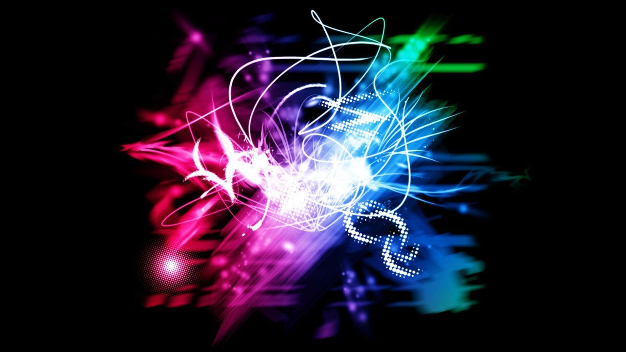neon backgrounds | Neon Lights - Wallpaper by ~V1N3 on