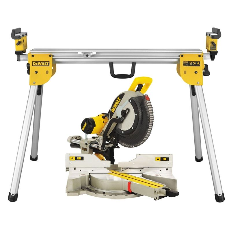 Find Dewalt 12 Amp Quot Compound Slide Mitre Saw With Stand At Bunnings Warehouse Visit Your Local Sto Miter Saw Sliding Compound Miter Saw Miter Saw Reviews