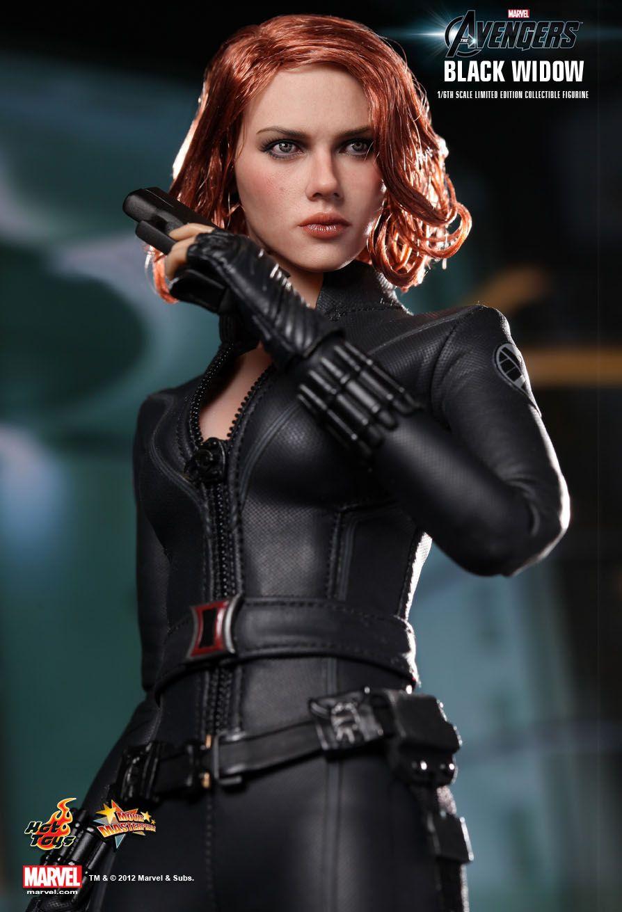 Sexy russion spy black widow