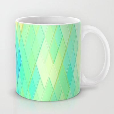 Re-Created Vertices No. 32 #Mug by #Robert #S. #Lee - $15.00