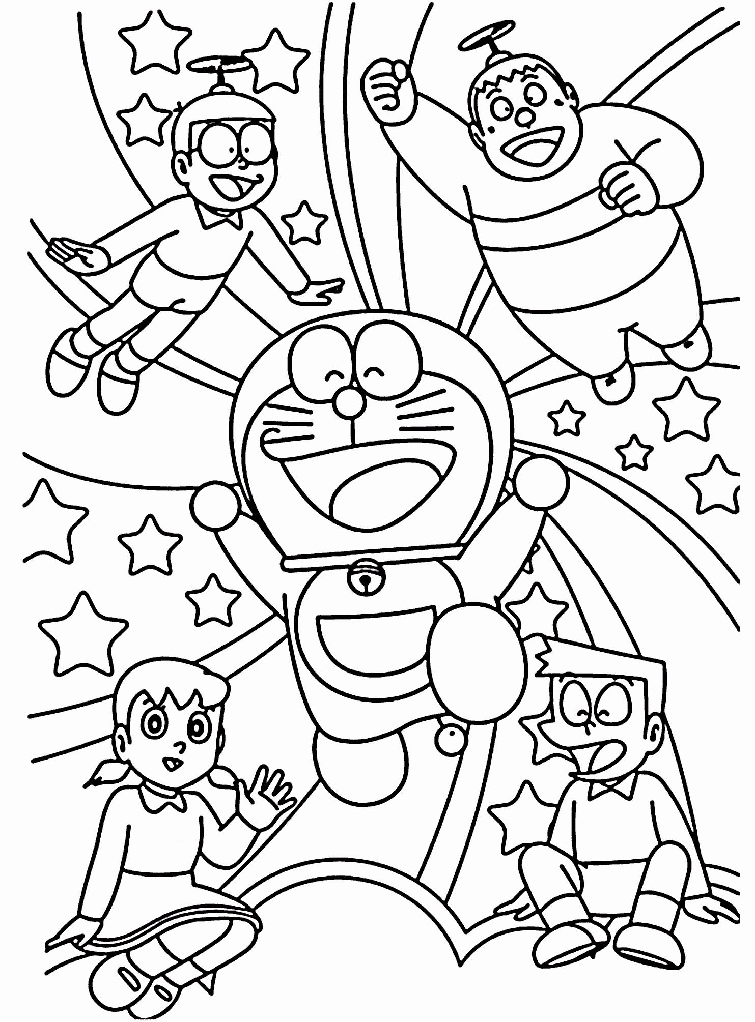 21 Coloring Book For Toddler 2020 이미지 포함 도라에몽