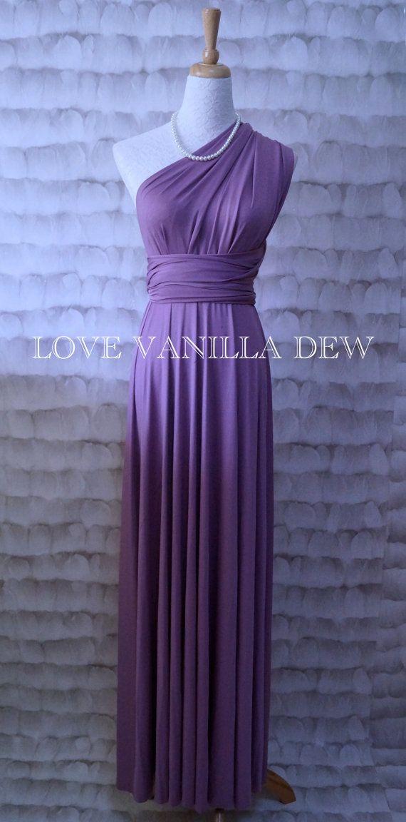 Bridesmaid+Dress+Infinity+Dress+Grape+Purple+by+LoveVanillaDew,+$ ...