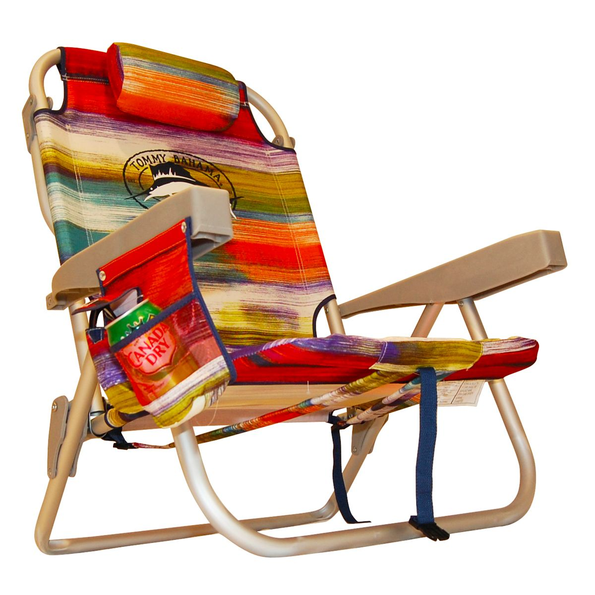 Tommy Bahama Backpack Cooler Beach Chair Dreamy Stripe Backpack