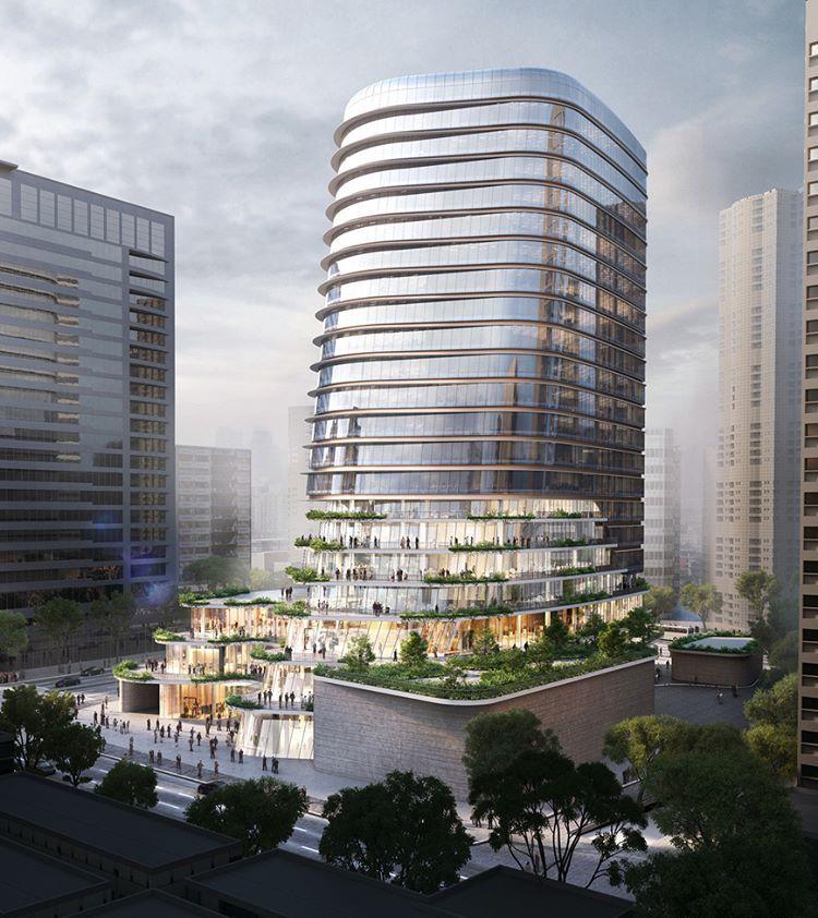 Aedas are combining a sleek office tower