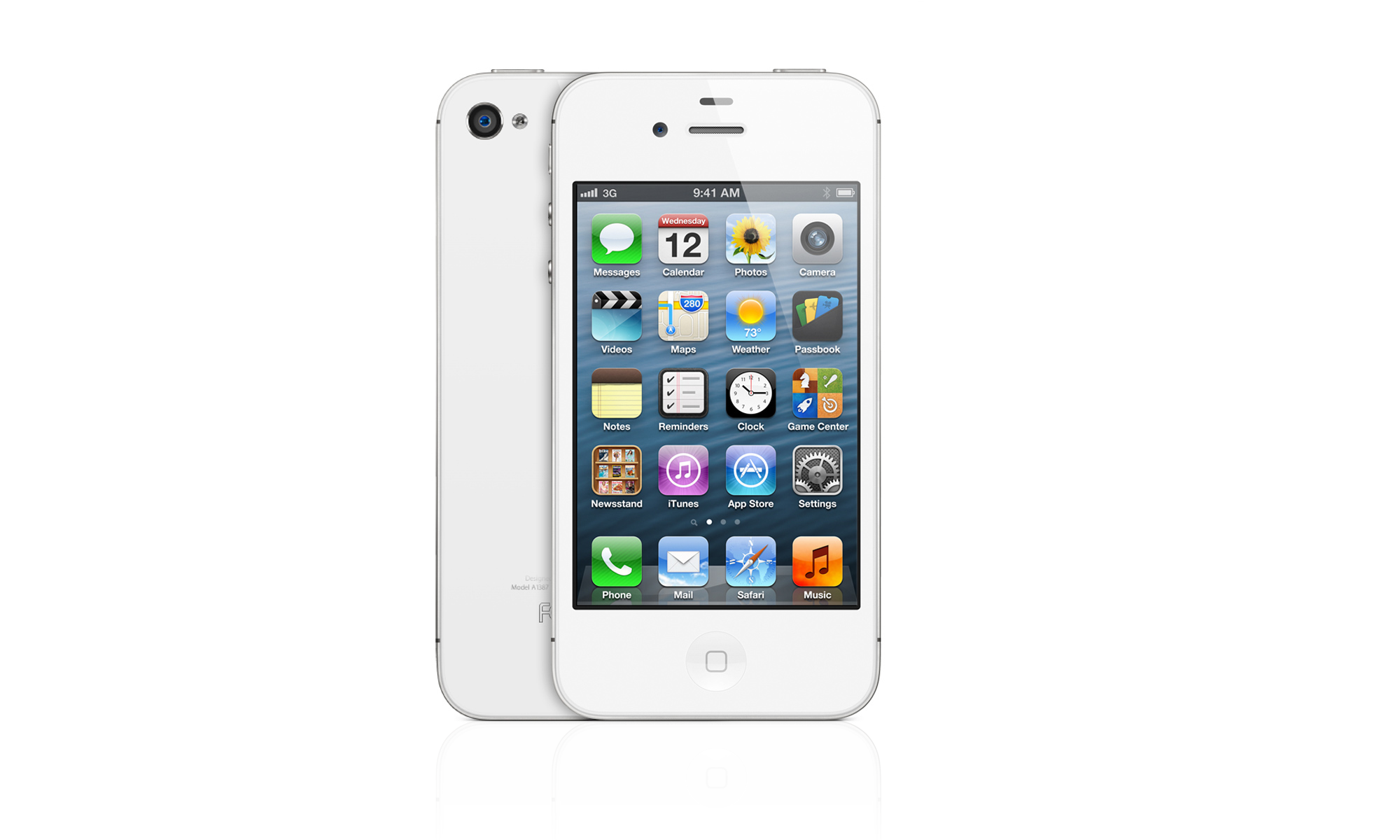 My newest toy - the 4S in white with 32 GB.