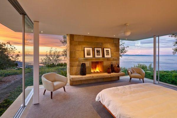 wohnzimmer mit kamin modern digritcom for. design plan modernes, Esszimmer