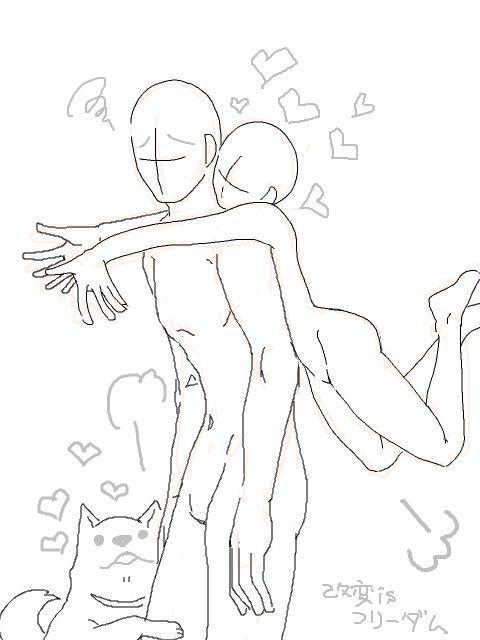 93bab08fa8f88ca943fb64fedc49b57a Anime Drawings Couple Couple