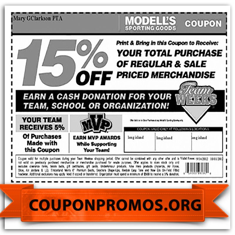 photograph regarding Modells Printable Coupons referred to as modells coupon codes for December Pattern Discount codes for December