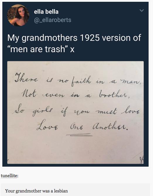 Gay since 1925