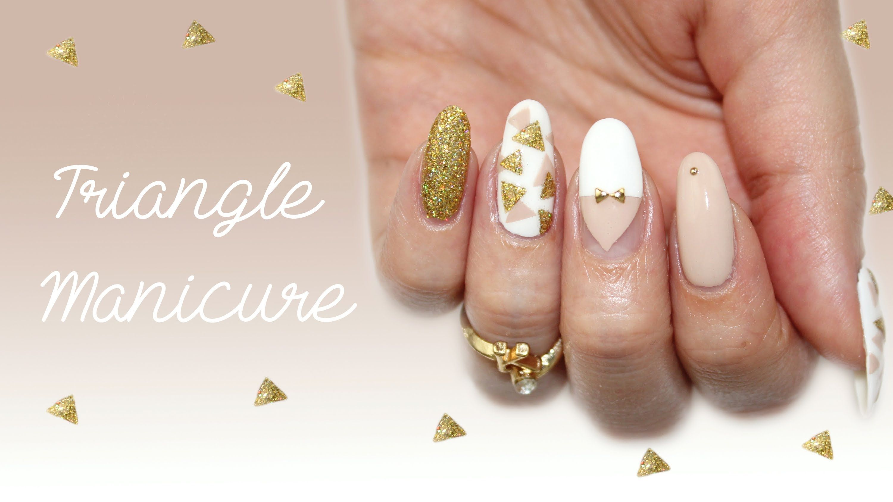 Triangle Nail Art | Spring 2014 ♡ | Nail Designs Tutorials ...