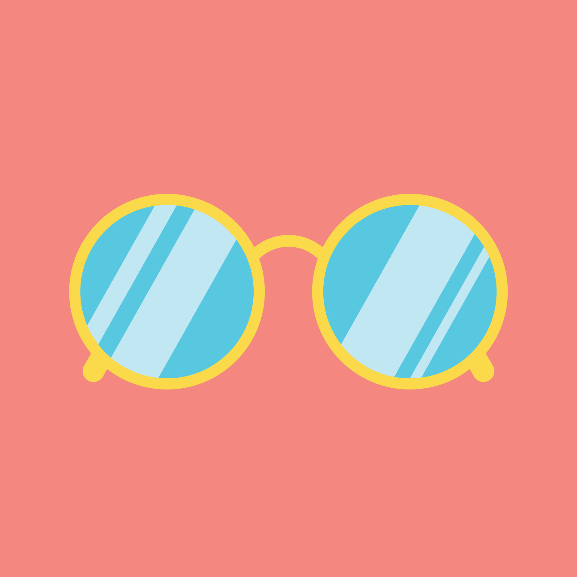 1eefb9b6dc7 sunglasses illustration by cans. | Draw | Graphic illustration ...
