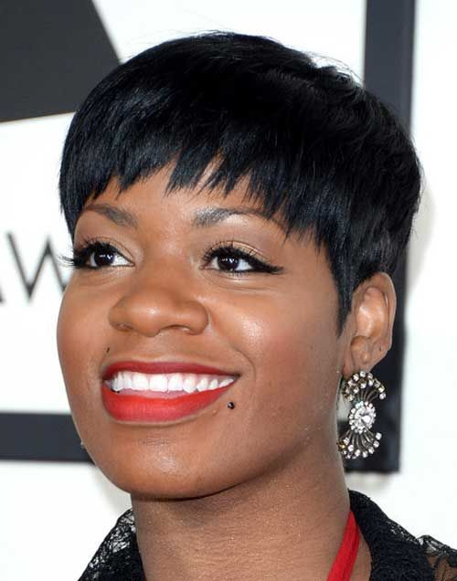 Fantasia Short Hairstyles With Funky Bangs Fantasia Hairstyles Fantasia Short Hairstyles Stylish Hair