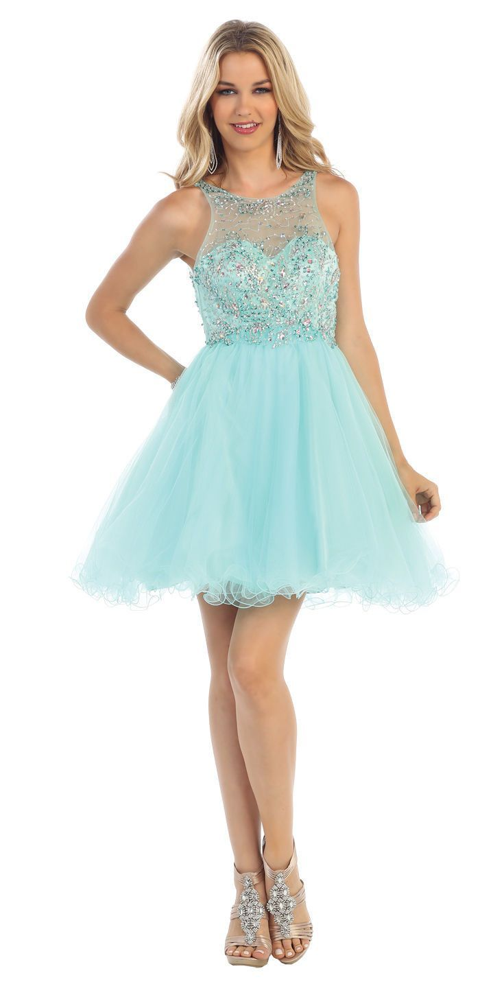 Short homecoming sleeveless prom cocktail party formal dress
