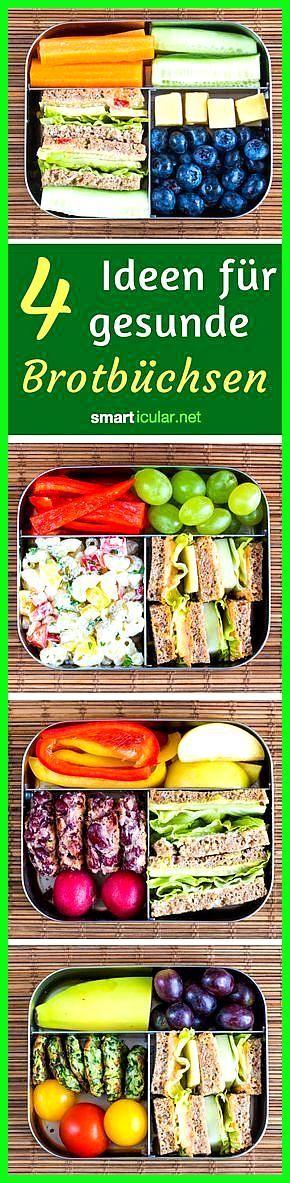 Einfache und gesunde Lunchbox-Ideen für Kinder #einfache #Fitness food photography #Fitness food prz...