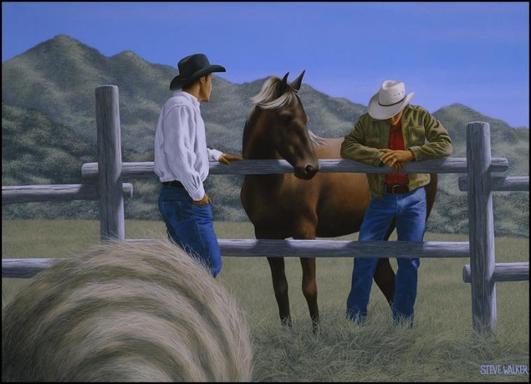 Bareback Mountain by Steve Walker (2007)