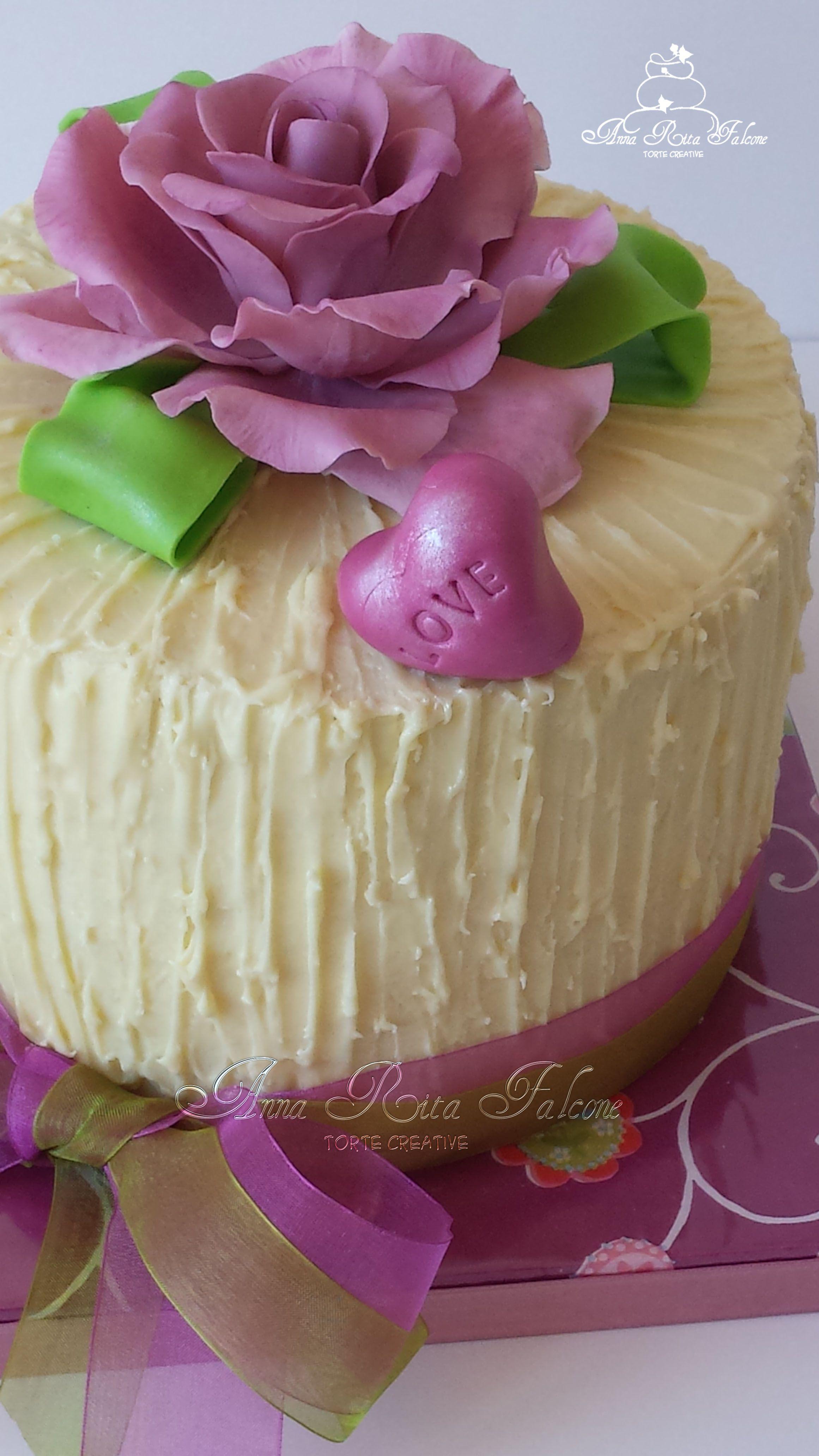 Cake rose end cioccolate