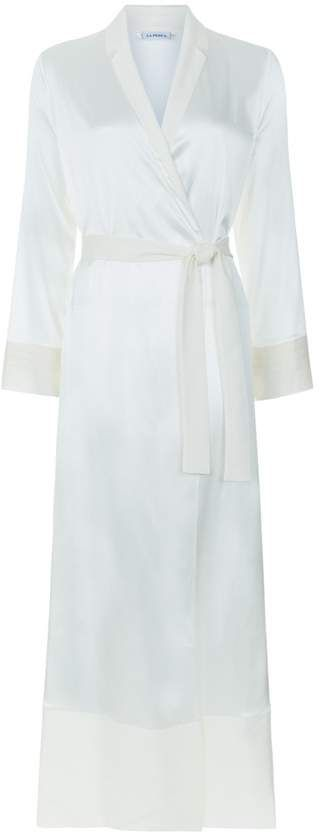 Silk Essence Long Dressing Gown  essential refined quality  d5653cae6