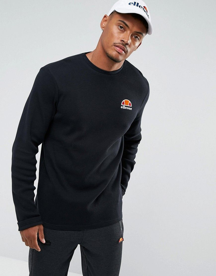 b6a11056b2 Ellesse Long Sleeve T-Shirt with Small Logo | Products | Shirts ...