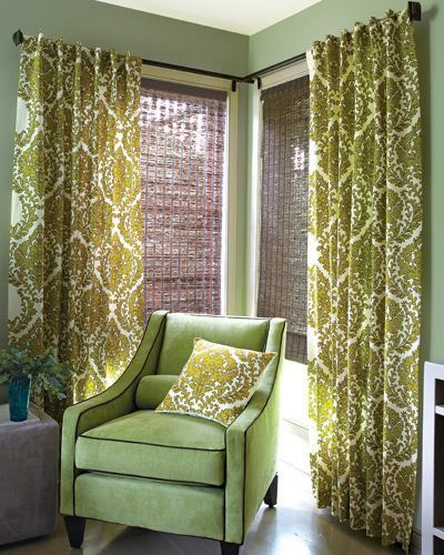 The Knot Your Personal Wedding Planner Corner Window Treatments Corner Window Curtains Corner Curtains