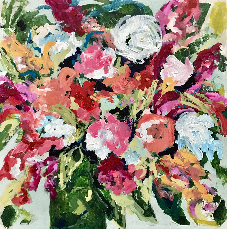 New paintings floral art original paintings aquarela
