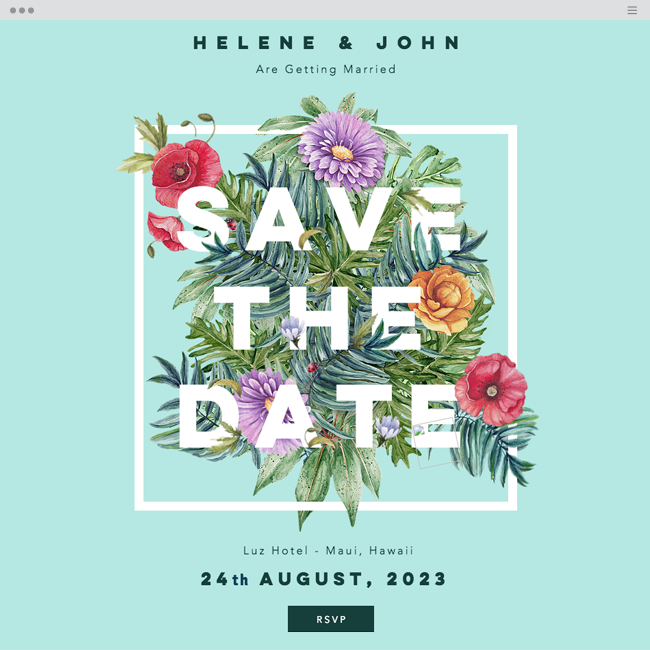 save the date website template save the date online invitation