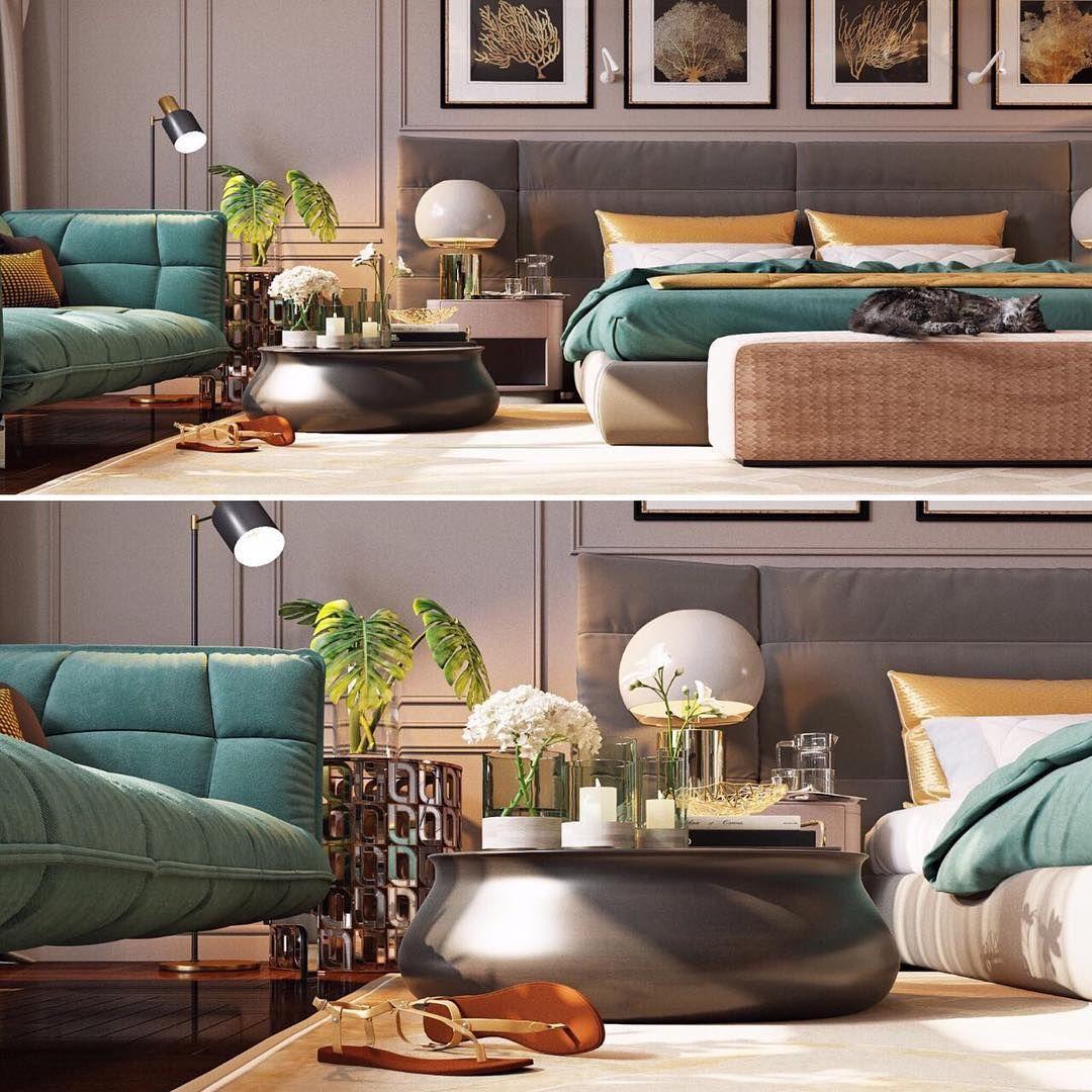 Interesno Chto Cvetnoe Kolonialnyj Stil Modern Bedroom Room Interior