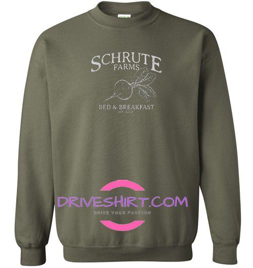 Schrute Farms Sweatshirt Dwight Schrute Bears Beets Battlestar