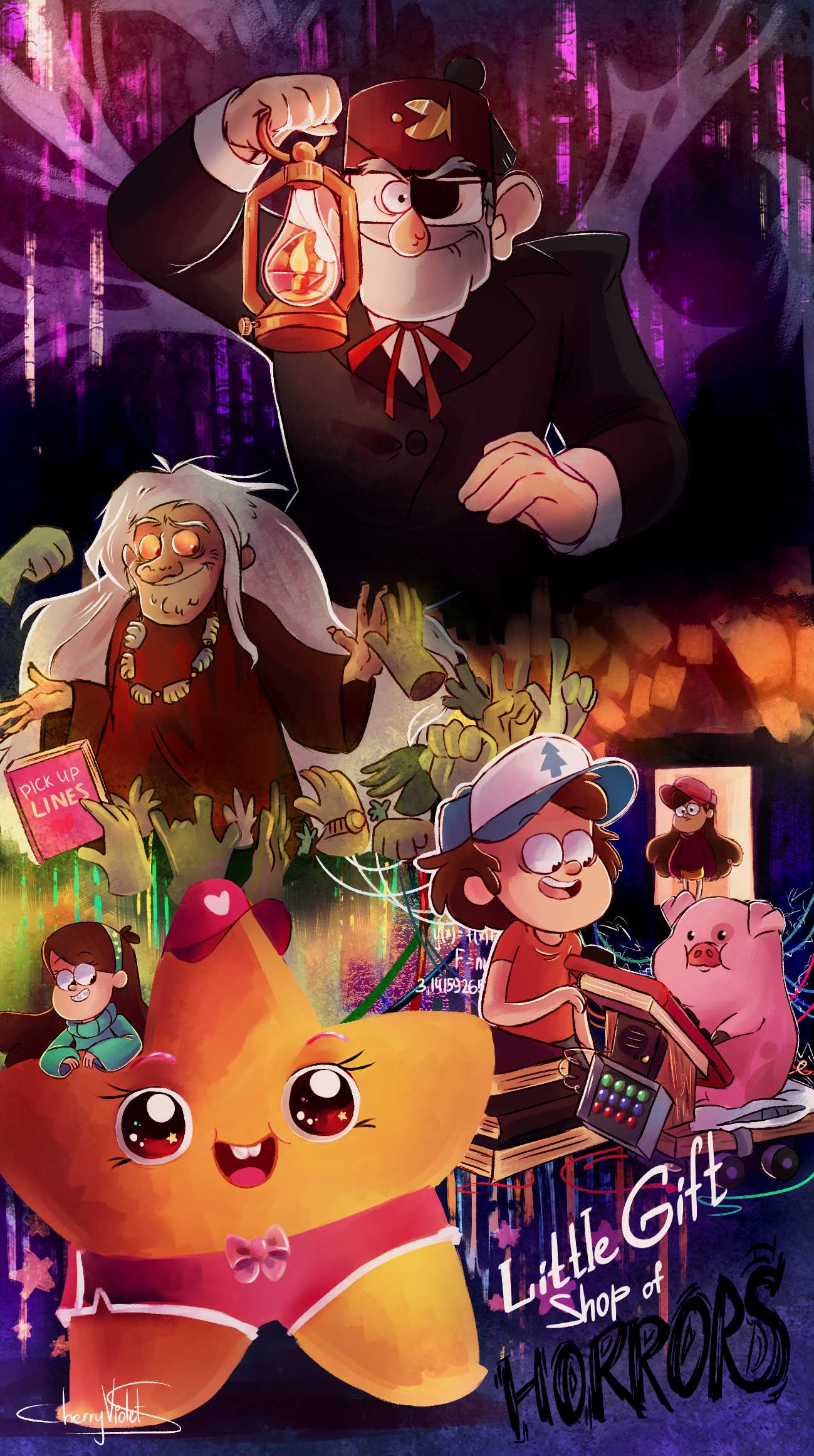 Little Gift Shop Of Horrors By Cherryviolets On Deviantart Gravity Falls Episodes New Gravity Falls Gravity Falls