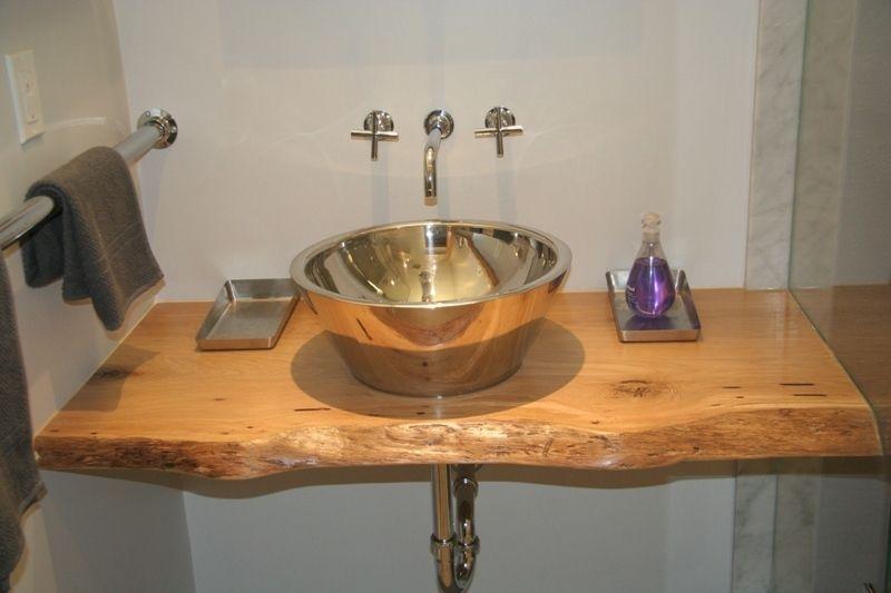 Kijiji Live Edge Slab Wood Bathroom Vanity Tops Wood Bathroom