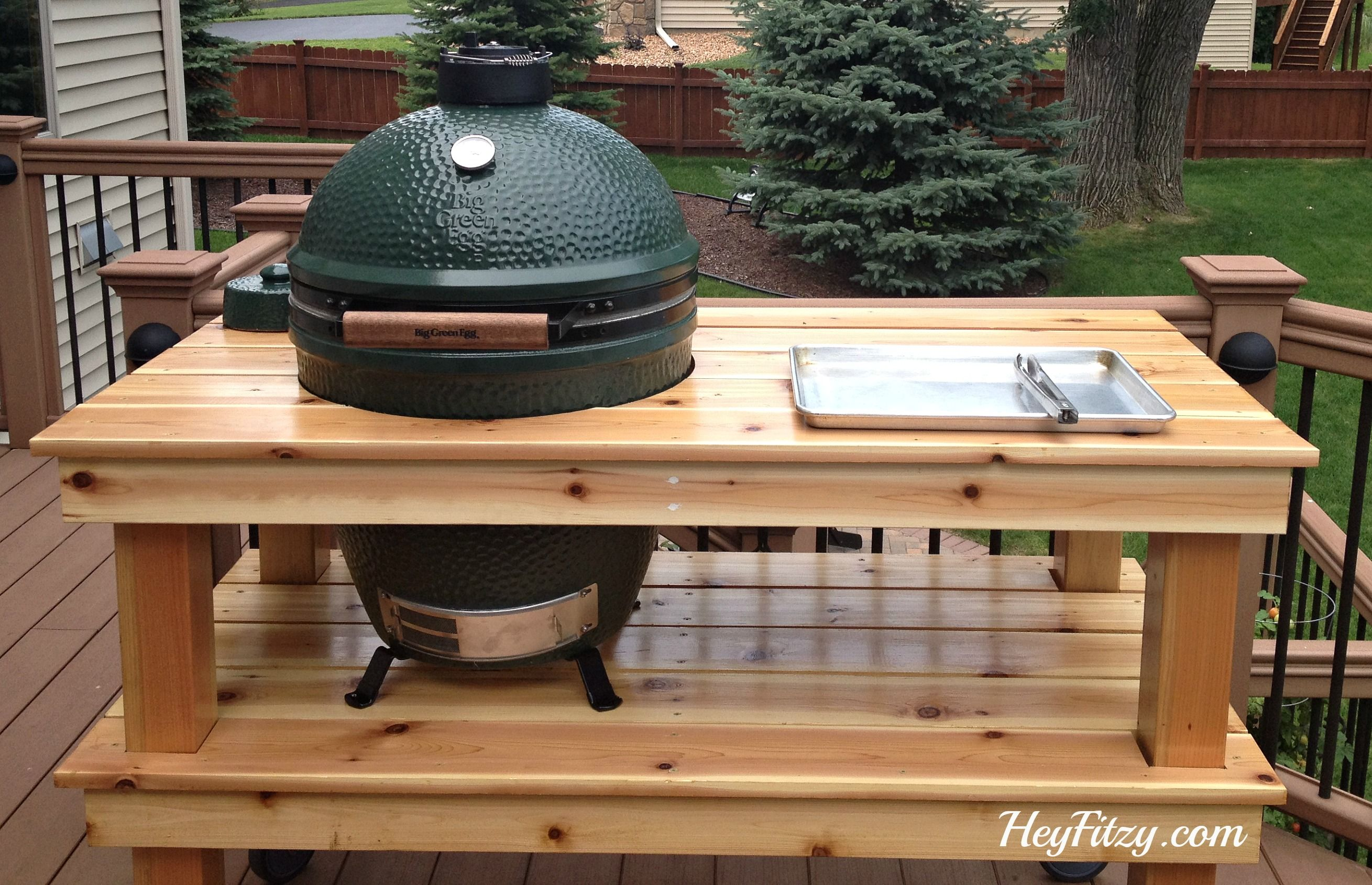 Xl Big Green Egg Table Plans Table Plans PDF Download