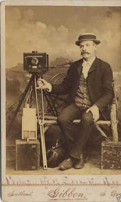 Cameras Of 1890 Albumen Print Of Photographer With His Studio Camera On Rolling Tripod Stand Image Antique Photography Vintage Portraits Vintage Photographs