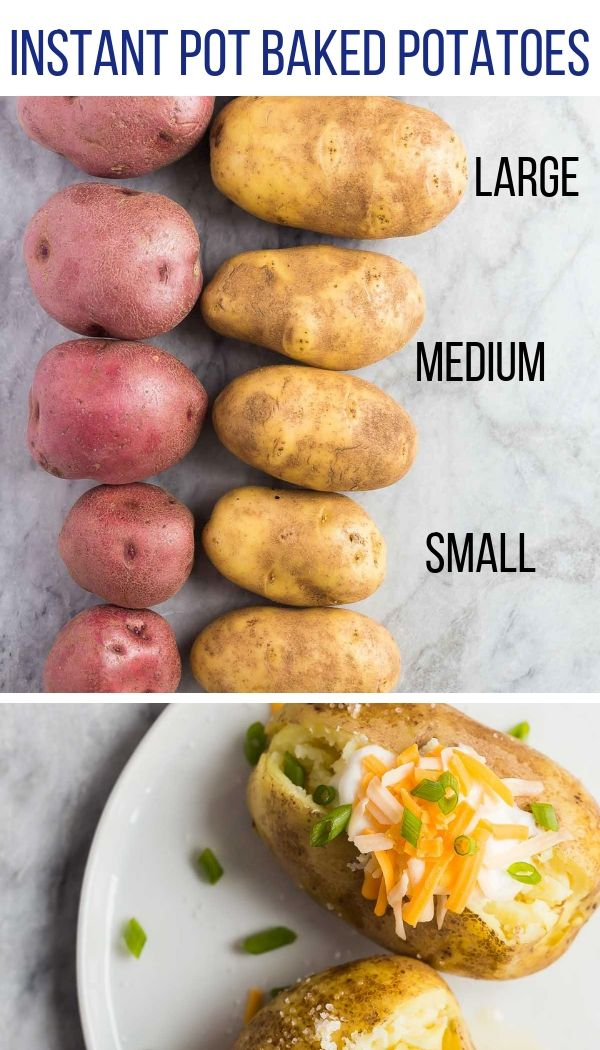 Photo of Instant Pot Baked Potatoes