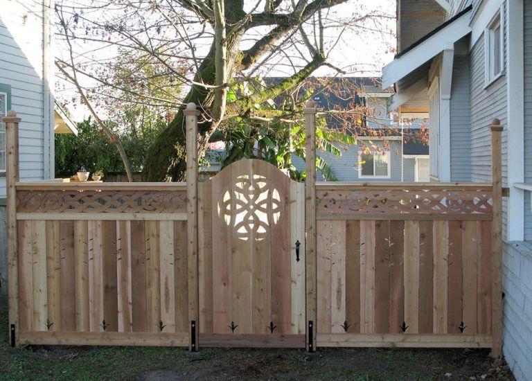 15 Inspired Garden Gates for a Beautiful Backyard Celtic knots
