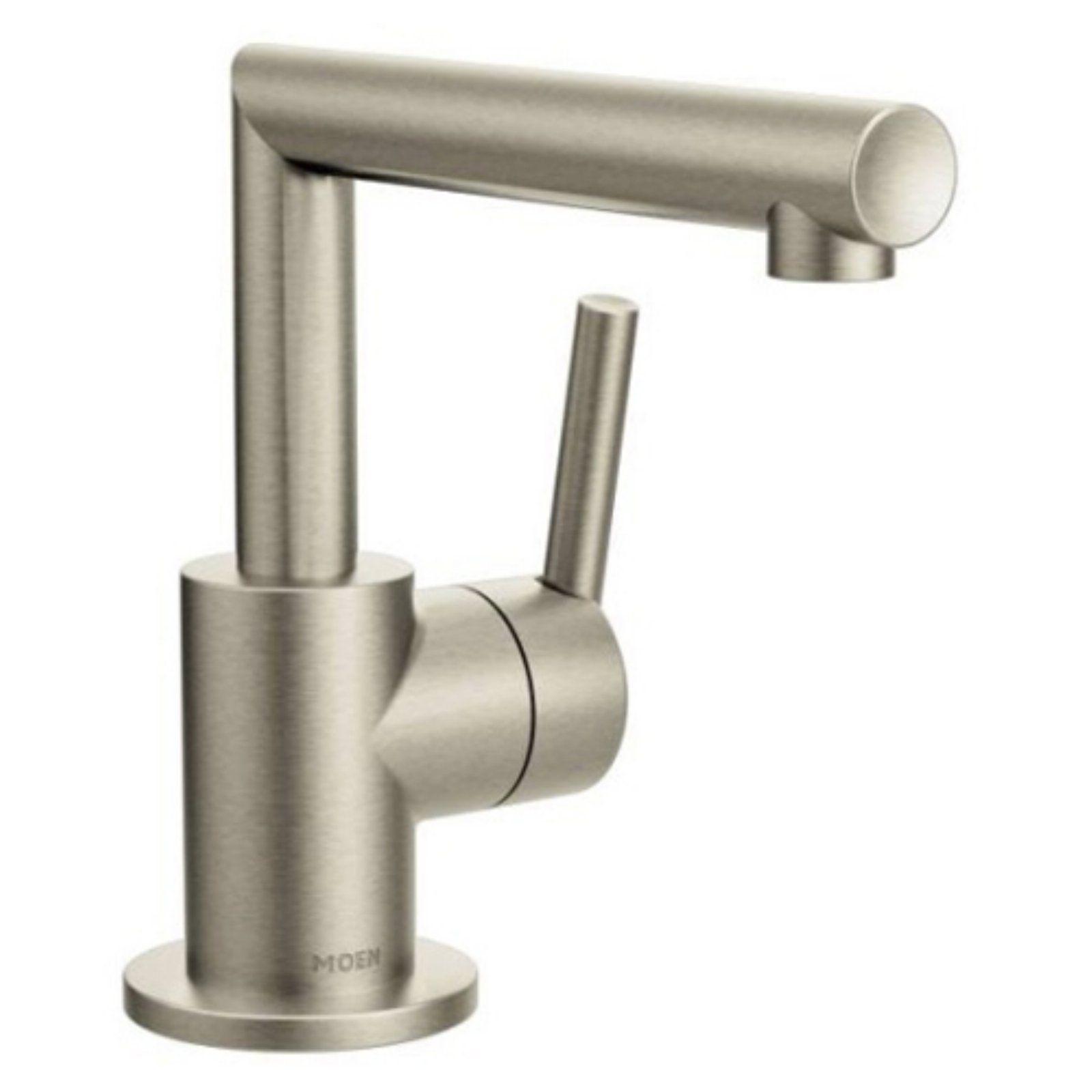 Moen Arris Brushed Nickel One Handle Bathroom Faucet Bathroom
