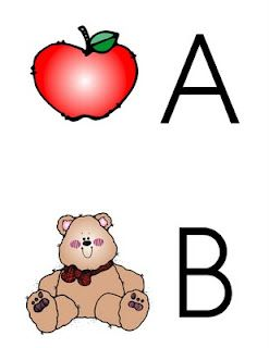 KinderTastic: Alphabet Flashcards - Upper and Lower Case