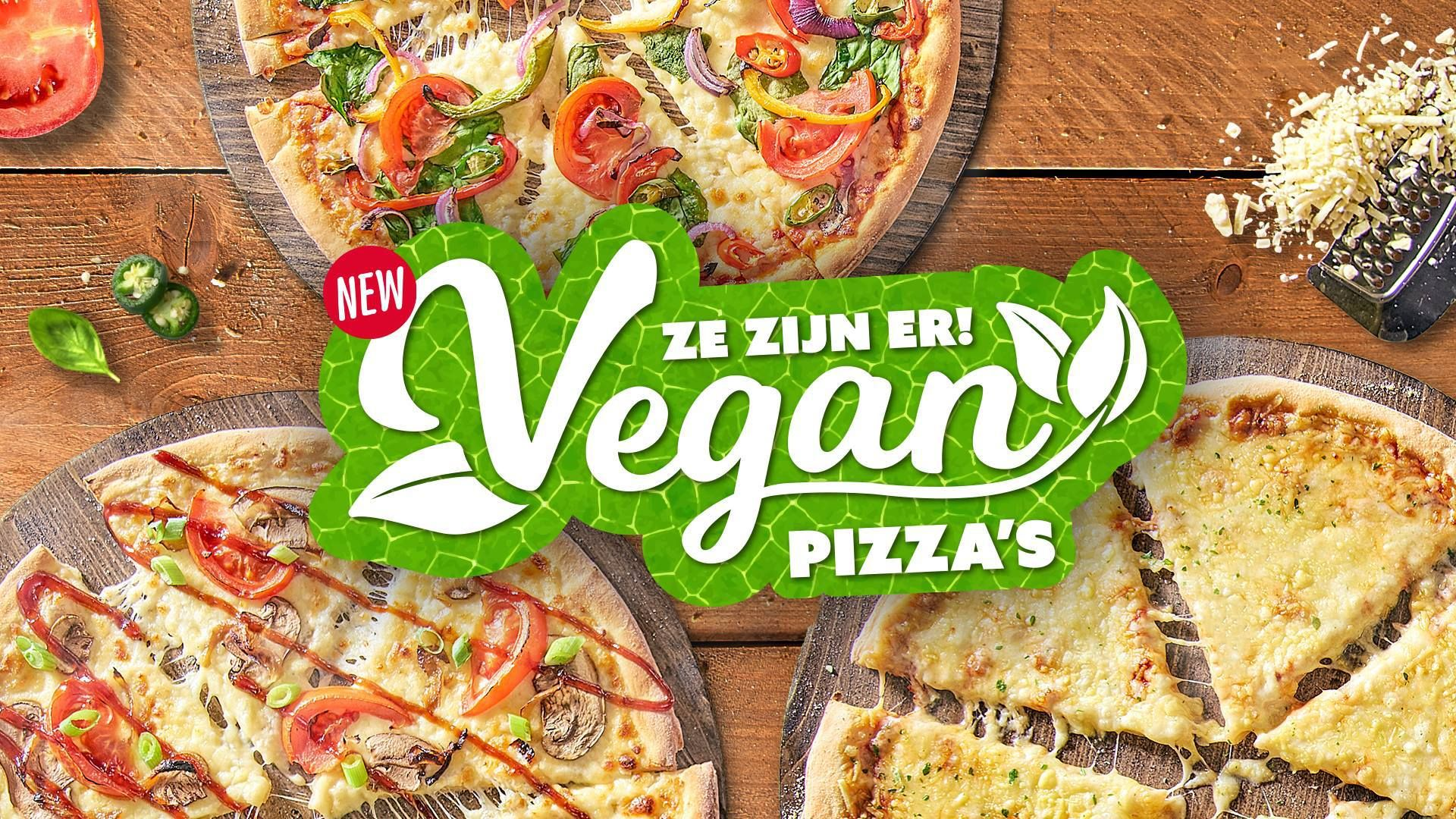 Domino S Launches 3 Vegan Pizzas In The Netherlands Vegan Pizza Plant Based Pizza Vegan