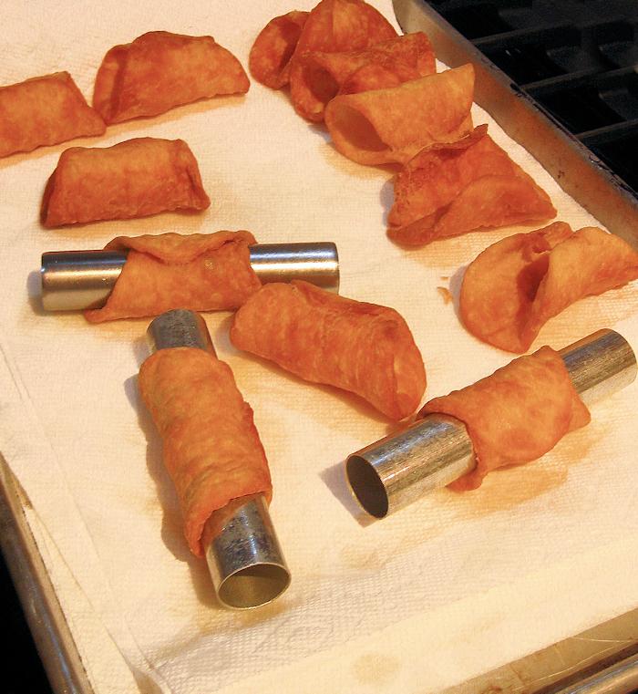 how to make italian cannoli