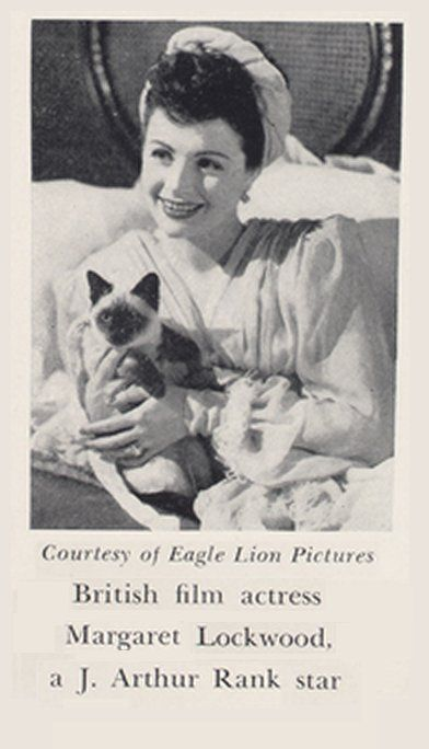 Actress Margaret Lockwood. Eagle Lion Pictures press photo
