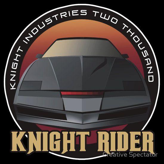 Knight Rider Logo KITT Car