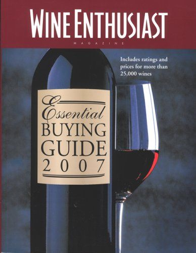 Wine Enthusiast Essential Buying Guide 2007 Includes Ratings And Prices for More Than 25000 Wines >>> Click on the image for additional details.