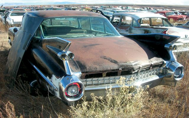 1959 Cadillac Series 62 6 Window Rust Never Sleeps