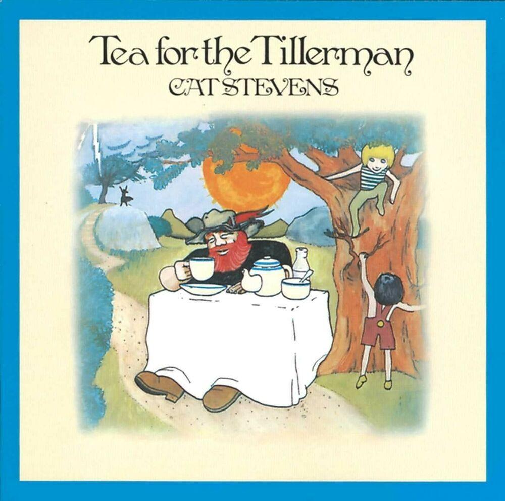 CAT STEVENS Tea For The Tillerman 1970 UK 11 track Island Label Rare Vinyl LP