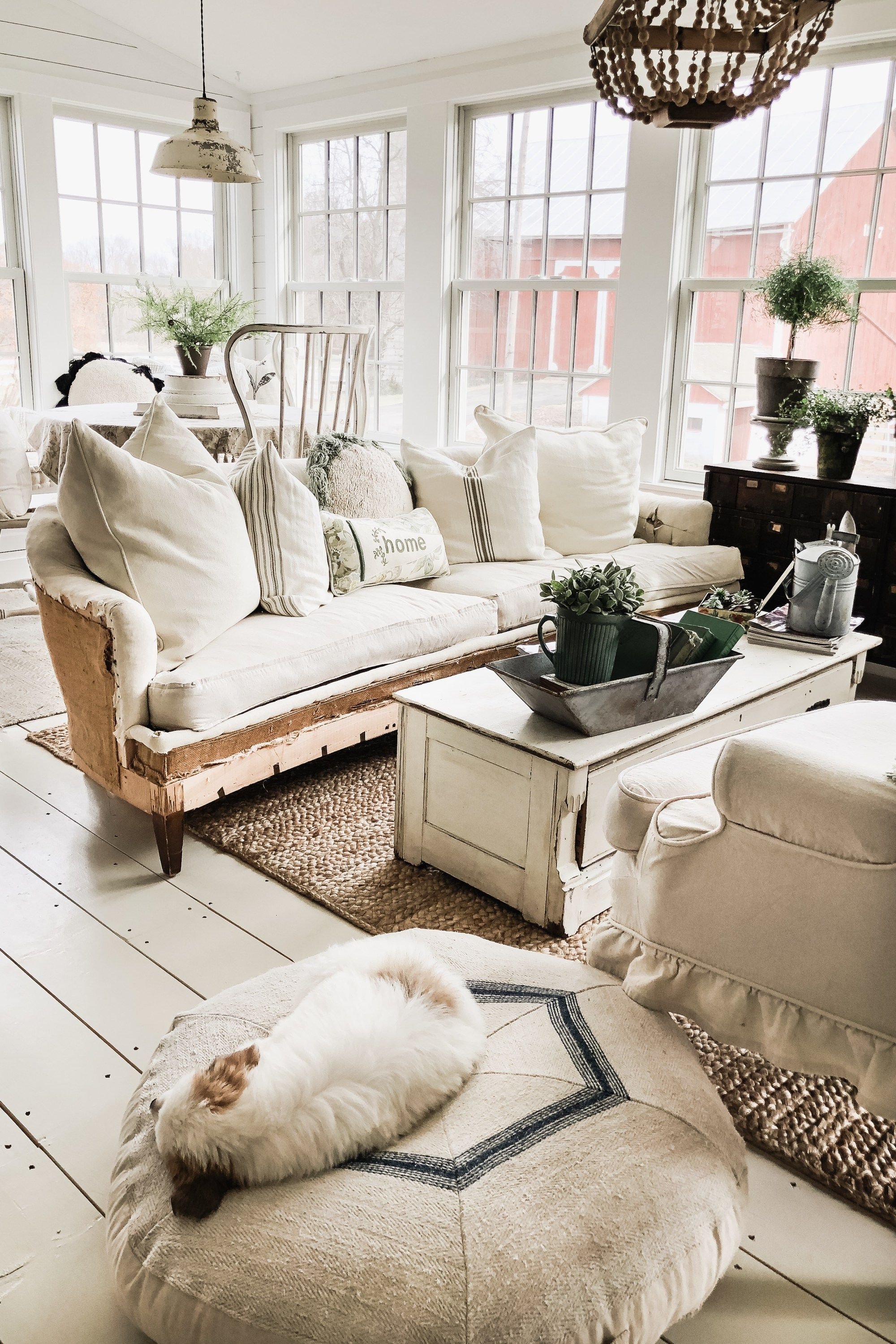 A Different Perspective Modern farmhouse living room