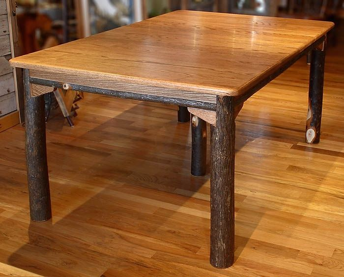 Tree Limb Hinged Table Legs | Table