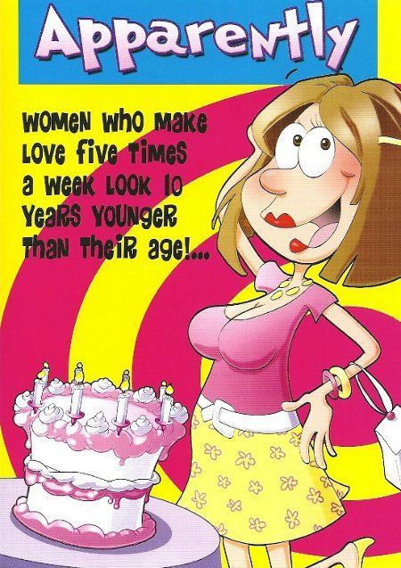 Funny Greeting Cards For Women Sex | Funny Birthday Cards Suitable For Women