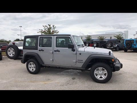 2017 Jeep Wrangler Unlimited Orlando Deltona Sanford Oviedo Winter Park Fl L689389 Fieldscjdr Sanford Florida With Images Suv Car Suv Car