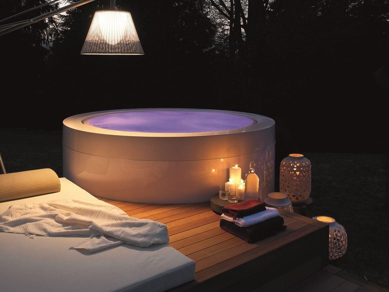 Vasche Da Bagno Zucchetti : Vasca da bagno centro stanza in metacrilato minipool collezione