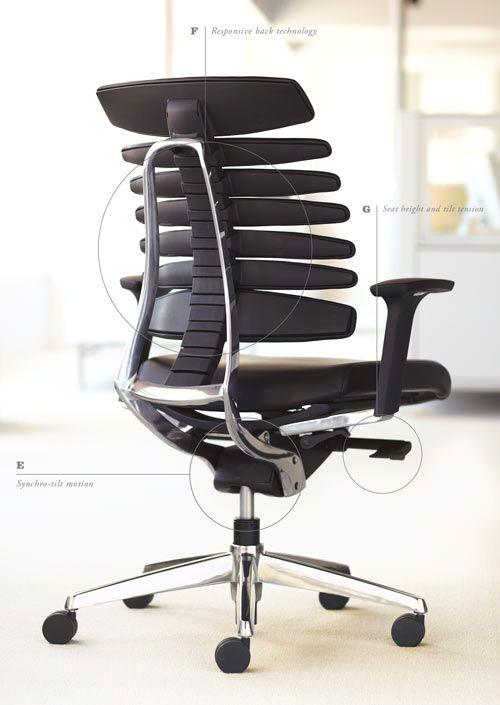 Rbt Task Chair By Teknion Office Chair Design Work Chair Modern Office Chair